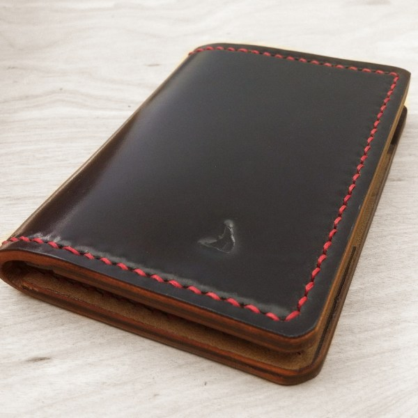 Handcrafted leather wallets