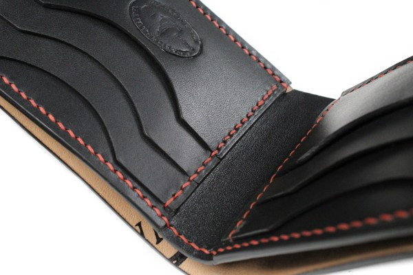 Shell cordovan wallets for men