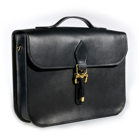 usa handmade leather briefcase