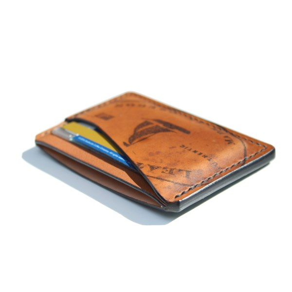 Shell Cordovan Card Wallet