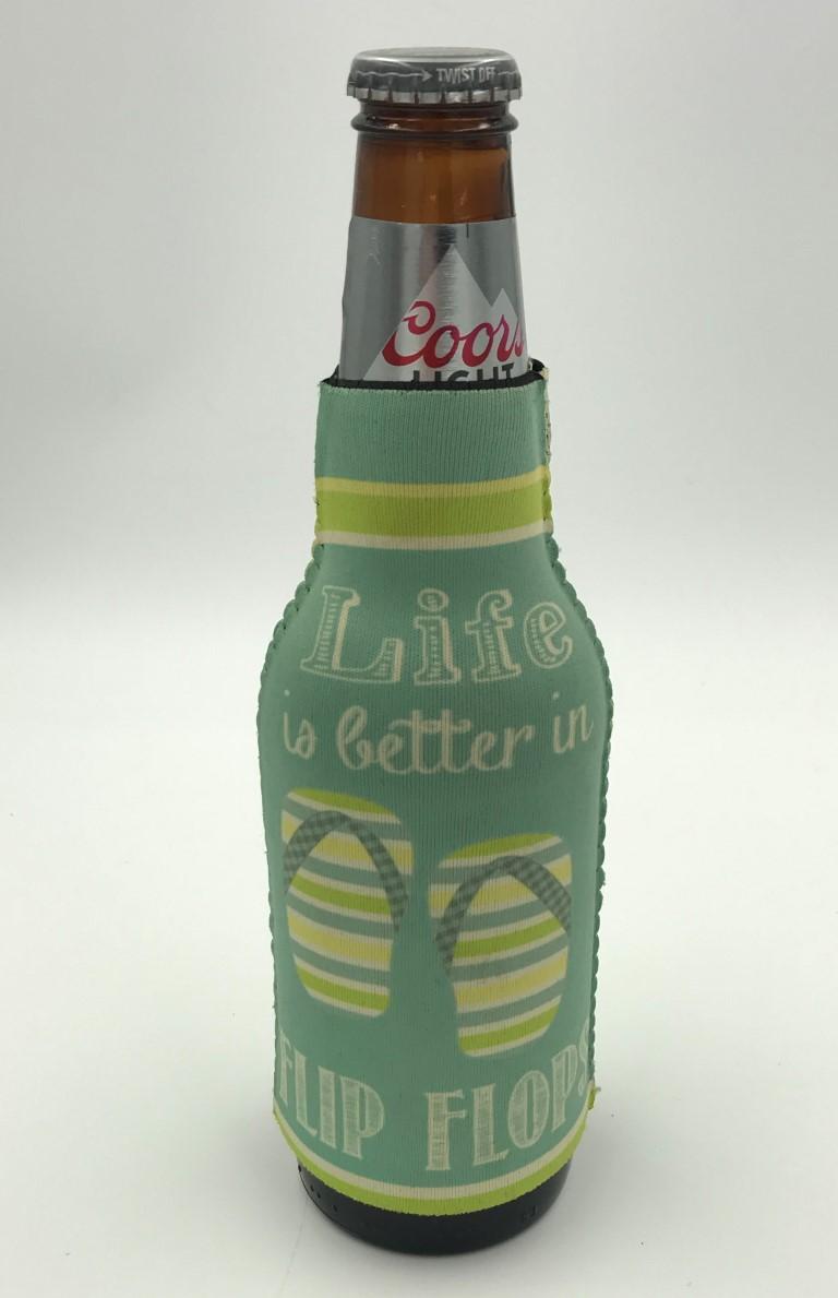 Slip on bottle