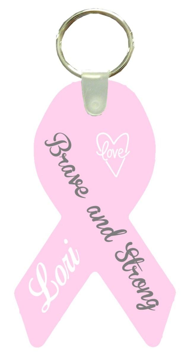 Breast Cancer Key Chain