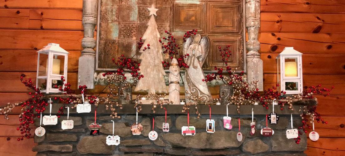 Ornaments Mantle 1