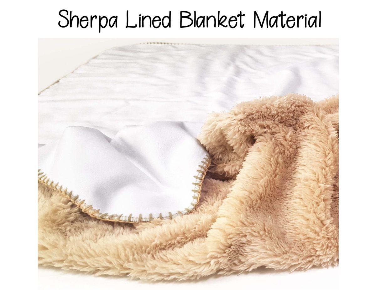 sherpa lined blanket