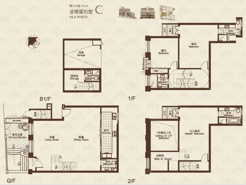Fountainside Villa C Floorplan