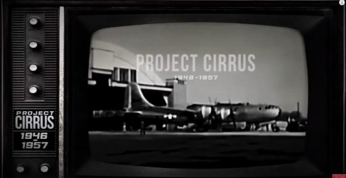 project cirrus_geoengineering_sverige_klimatet