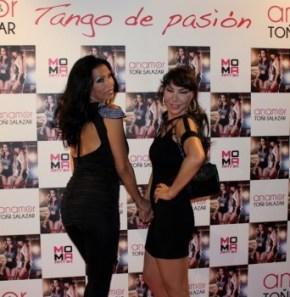 Toñi Salazar y Anamor en la presentación (Foto: Promoción)