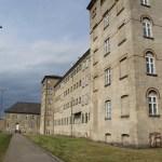 El edificio de la prisión y el patio. (Foto: © M.Mielgo - JMNoticias)