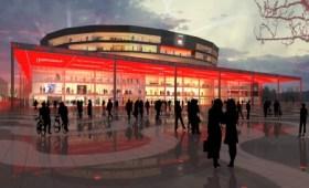 Ilustración del Malmö-Arena donde se celebrará el festival de Eurovisión 2013 - (Foto: ESC)