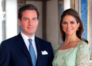 Magdalena de Suecia y su prometido Christopher O'Neill se casan el 8 de Junio 2013. (Foto: Kungahuset.se)