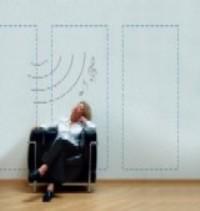 El nuevo sistema permite que las paredes hablen y sean como altavoces. (Foto: Bayer AG)