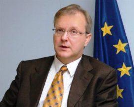 El finlandés Olli Rehn, nuevo comisario de economía de la UE. (Foto: archivo)