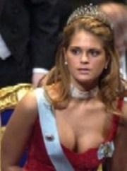 Magdalena de Suecia en la fiesta de entrega de los Premios Nobel.