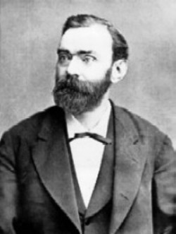 Alfred Nobel, el inventor de la dinamita. (Foto: archivo)