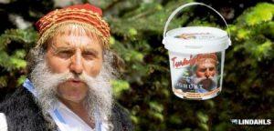 Los yogures «turcos» de la sueca Lindahls Mejeri se identifican por la foto del griego. (Foto: lindahlsmejeri)
