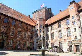 Castillo de Koldinghus (Casa de Kolding). Fue construido en 1268 y unos soldados españoles lo incendiaron en la noche del 29 al 30 de marzo de 1808. (Foto: © M.Mielgo - JM Noticias)