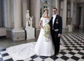 La boda de la princesa Victoria fue la más cara. Costó 17 millones de coronas suecas (1,83 millones de €) - Foto: Kungahuset.se