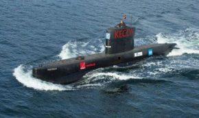 Un submarino mayor que este «EC3 Nautilus» es el que los misteriosos «representantes» querían comprar a Peter Madsen para la «futura armada catalana» (Foto : Wikipedia)