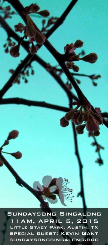 April Singalong Flier