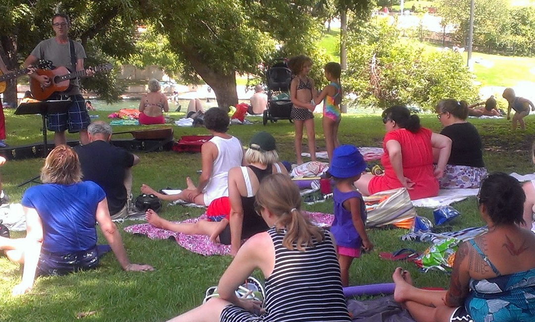 September 2016 Singalong at Barton Springs