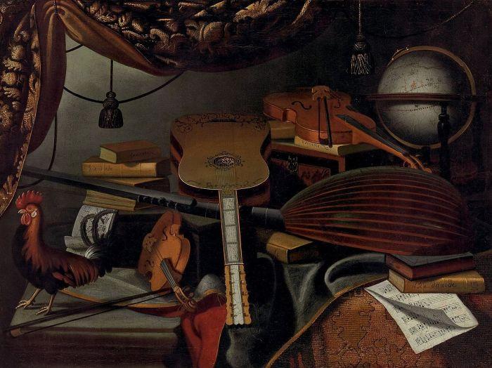 Bartolomeo_Bettera_-_Still_Life_with_Musical_Instruments