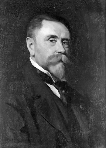 José Wolf, Portrait de Sylvain Dupuis, 1920, Liège, Conservatoire royal de Musique