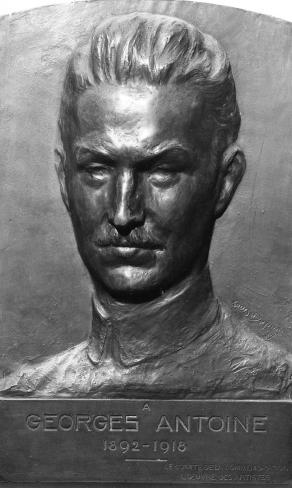 Louis Dupont, Buste de Georges Antoine, bronze sculpté, 1929, Liège, Conservatoire royal de musique