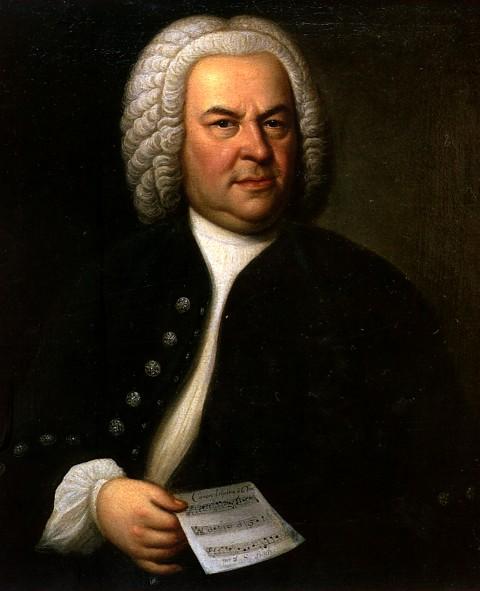 46. Bach, Portrait de