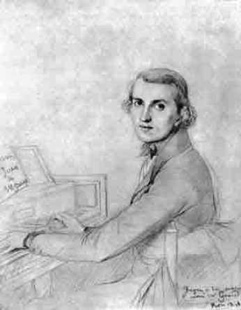 08. Le jeune Charles Gounod par Ingres