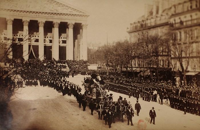 78. Funérailles de Gounod à la Madelein, 27 octobre 1893 Saint-Saëns à l'orgue