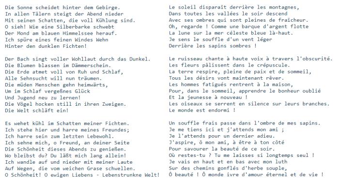 Blog 2701 Mahler Chant de la Terre Adieu