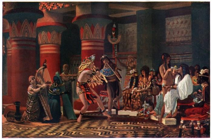 03022019 Alma-Tadema, Passe-temps dans l'Égypte ancienne, 1863.