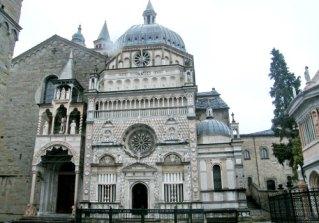 04. Basilique Sainte Marie Majeure de Bergame extérieur