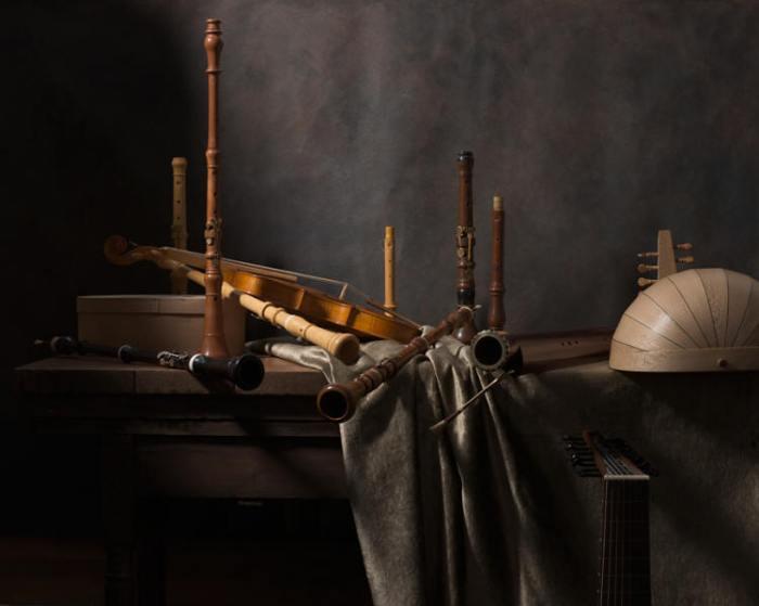 Blog Basson Henri PEYRE et Catherine AUGUSTE - Nature morte avec hautbois, luth et basson (2016)