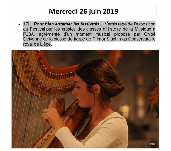 Vernissage Chloé Delvenne