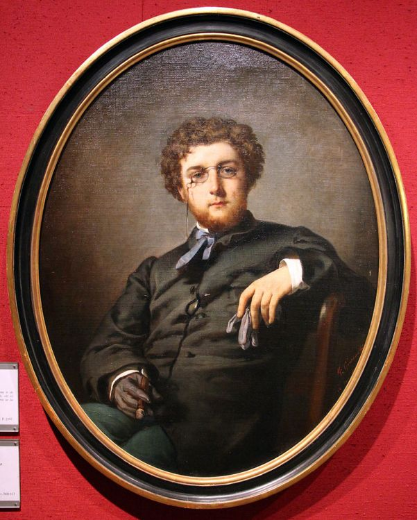 05. Félix-Henri Giacomotti, Portrait de Bizet vers 1860-70.
