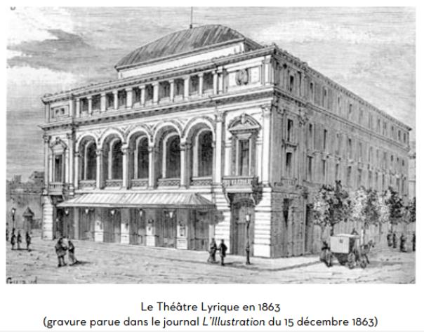 41. Le Théâtre Lyrique à Paris en 1863