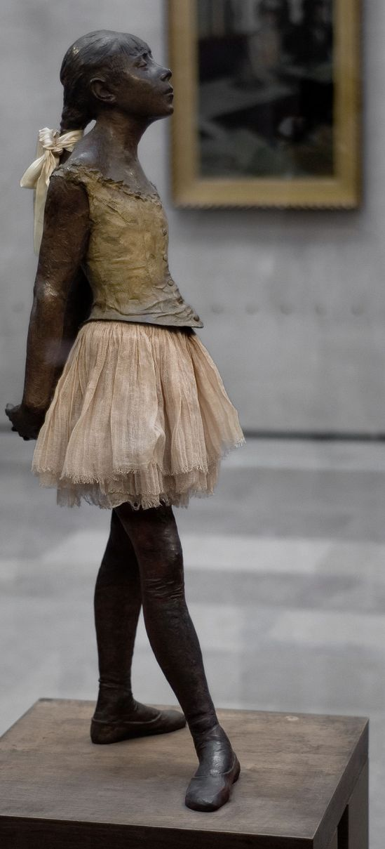 24b. E. Degas, La Petite Danseuse de quatorze ans (1879-1881),