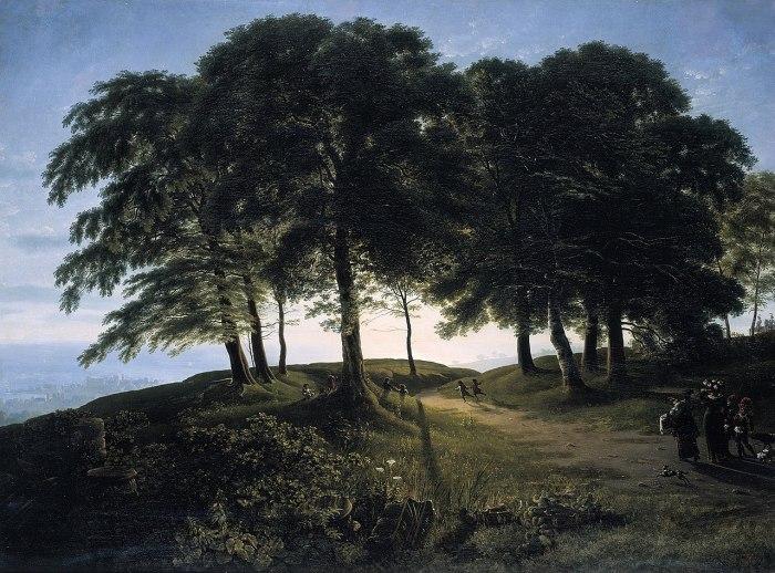 43a. Karl Friedrich Schinkel, Le Matin, 1913.