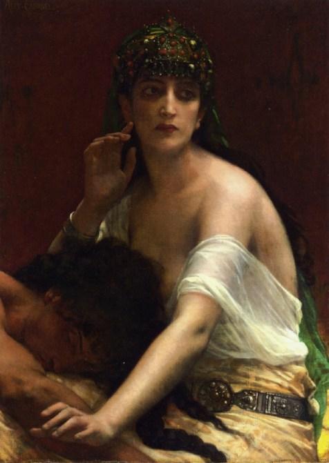 53b. Alexandre Cabanel, Samson et Dalila, 1878.