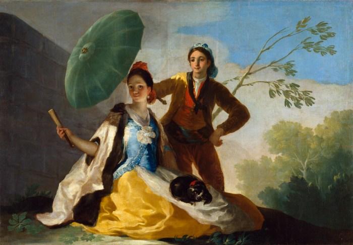 56a. F. de Goya, El Quitasol (le Parasol), 1777.