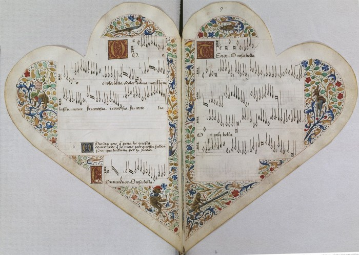 58. Manuscrit Chordiforme O Rosa Bella