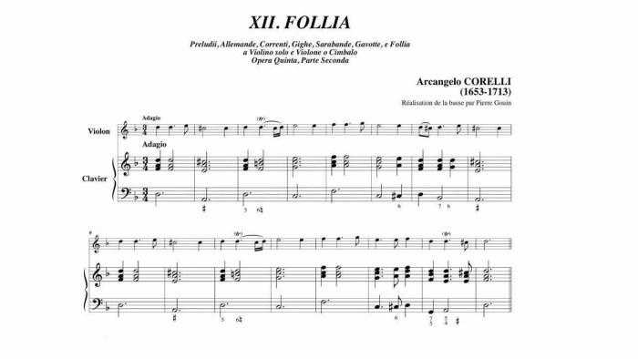 58c. Folia Corelli thème
