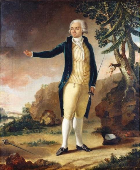 62. Alexandre-Auguste Robineau (1747–1828), Le Chevalier de Saint-Georges, 1787.