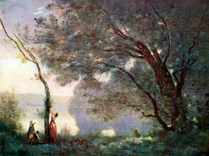 64b. Jean-Baptiste-Camille Corot - Souvenir de Mortefontaine, 1864