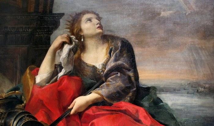 84a. Sacchi Andrea, La Mort de Didon a, vers 1630-40.