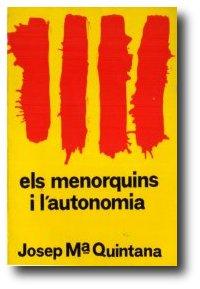 Els menorquins i l'autonomía