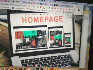 home page lead generation website design