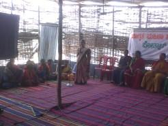 susheela addressing
