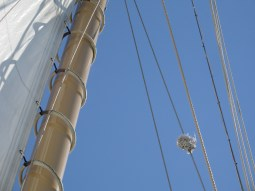 Labor Day 2010 in Newport on a sailboat that skimmed the harbor